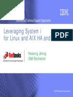AXP02 AIX5L on System i HA Solutions