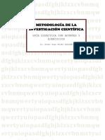 Guia Didáctica Apuntes y Ejercicios de Metodología de Investigación