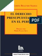 El Derecho Presupuestario - García Belaunde