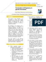 Termination of Pregnancy for Congenital Anomalies_2003