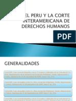 El Peru y La Corte Interamericana de Derechos