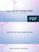 Analysis of Fishing Data – Application of Count Regression