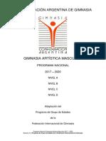 2017-2020 Gam Programa Nacional