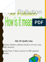 Measures of Air Pollution