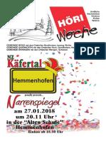 Höriwoche KW3