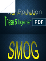 Pollutants of Air Pollution