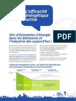 Plaquette Efficacite Energetique