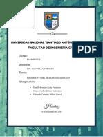 EVALUACIÓN DEL ESTUDIO DE MECANICA DE SUELOS