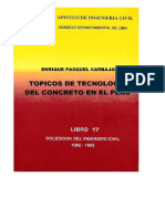 Topicos de Tecnologia de Concreto en El Peru