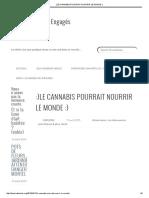 _)Le Cannabis Pourrait Nourrir Le Monde _)