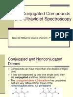 Conjugated Compounds and Ultraviolet Spectroscopy