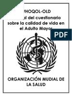 Whoqol Old Español (Traducción)
