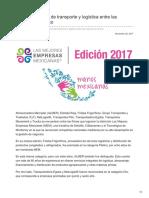 Nueve empresas de transporte y logística entre las mejores de México