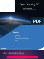Conceptos Básicos de Licenciamiento F17