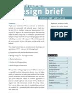 Edr Displacement Ventilation Designbrief v2