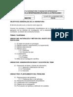102 METODOLOGÍA DE LA INVESTIGACIÓN APLICADA A LA PSICOLOGÍA I_2014