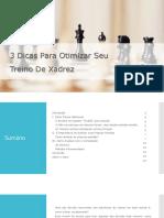3 Dicas Do GM Rafael Leito Para Otimizar Seu Treino de Xadrez