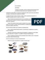5 Minerales Que Se Producen en Guatemala