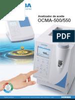 OCMA 500 Serie Analizadores de Aceite