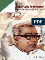 Rammanohar Lohia - S. R. Nene