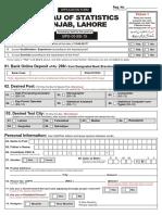 BurOfStat Form Application-Form June Latest 2017 Www.jobsalert.pk