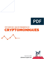 Petit Guide d'Analyse Fondamentale d'Une Cryptomonnaie