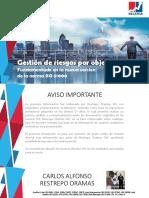 Gestion de Riesgos Por Objetivos Con Enfoque en ISO 31000