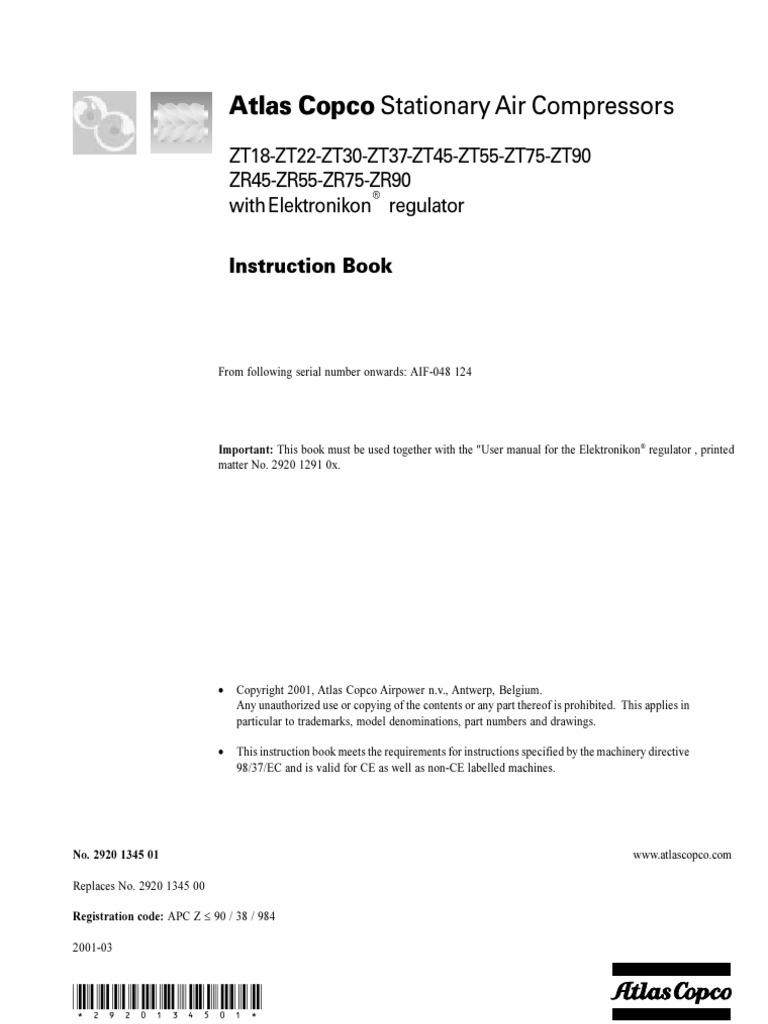 atlas copco ga 45 ff manual rh e14 satori msk ru Atlas Copco GA 45 Compressor atlas copco ga 45 maintenance manual