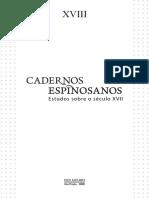 Cadernos Espinosanos 18