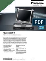 Panasonic Toughbook Cf19 Datasheet