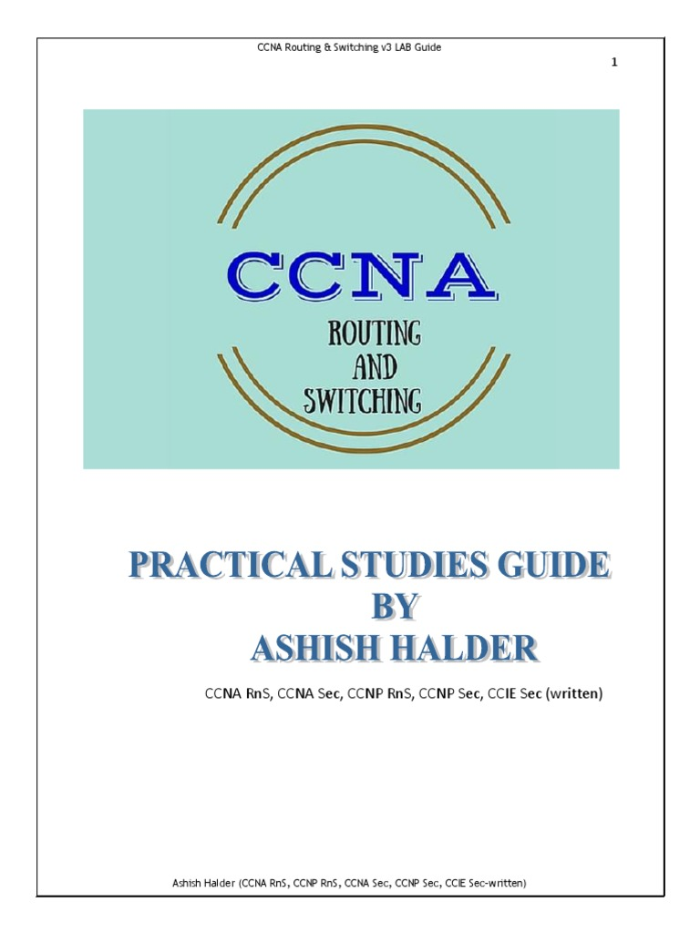 Ccna Lab Guide v3_preview | Secure Shell | Ip Address