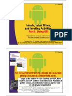 Android Intents 2