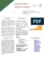 Crecimiento de la Población en Tlaxcala