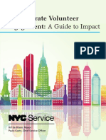 Employee Volunteer Engagement Guide