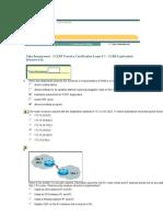 CCENT Practice Certification Exam 1
