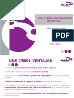 UNE 170001 - Accesibilidad universal
