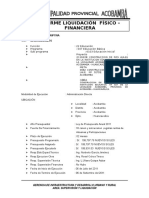 Informe Liquidacion Fisico