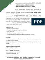Kit Acao Revisao INSS - Tetos Constitucionais