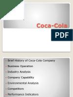 Coca Cola Company Presentation