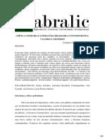 Critica Literaria e Literatura Brasileira Contemporanea Valores e Criterios