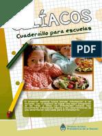 Celiacos Cuadernillo Para Escuelas 2017