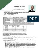 RESUME CV Tabeti Abdelkader English 2017