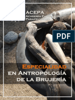 Antropologia Brujeria