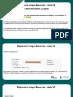 Língua Francesa - Aula 10