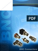 Amphenol RF BNC Connectors Catalog Pages