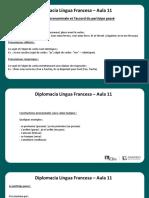 Língua Francesa - Aula 11