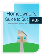 HUD - Homeowners Guide to Success