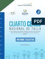 Censo de Peso y Talla 2015