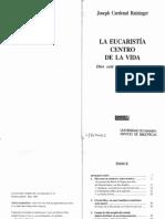 Ratzinger,J. La eucaristía centro de la vida.pdf