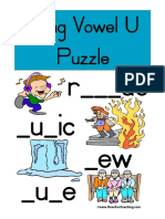 Long Vowel u Puzzle